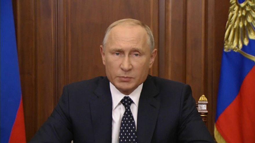 Putin alivia reforma das pensões