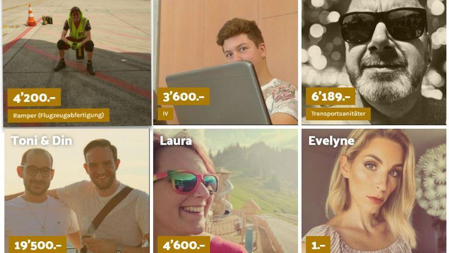 Wer verdient wie viel? Hier legen Schweizer ihre Gehälter offen