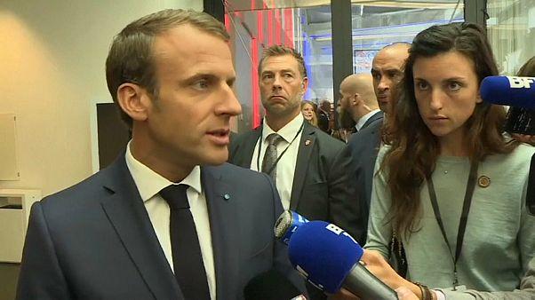 Macron se erige como principal opositor de Orbán y Salvini