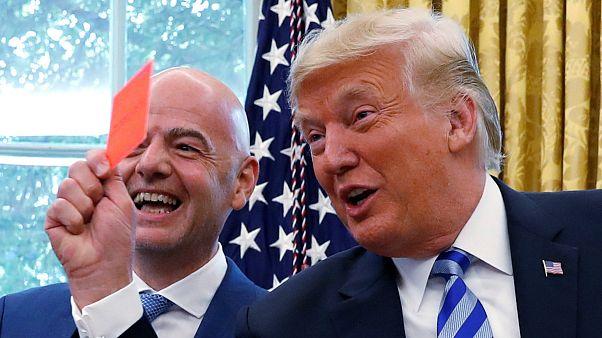 Mondial 2026 : Trump rencontre le président de la FIFA et tacle la presse au passage