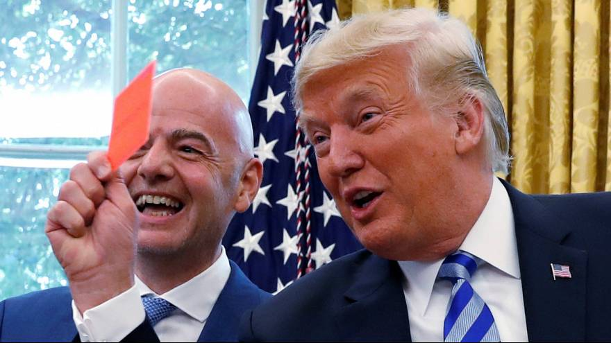 Watch: Trump meets FIFA President Infantino to discuss 2026 World Cup