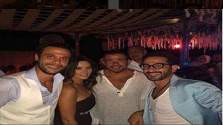 شاهد: اللقطات الأولى من حفل زفاف محمد إمام نجل الممثل المصري عادل إمام