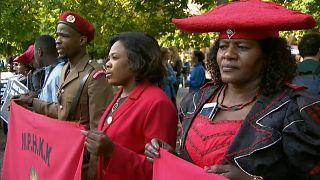 Kolonialverbrechen: Herero-Delegation in Berlin