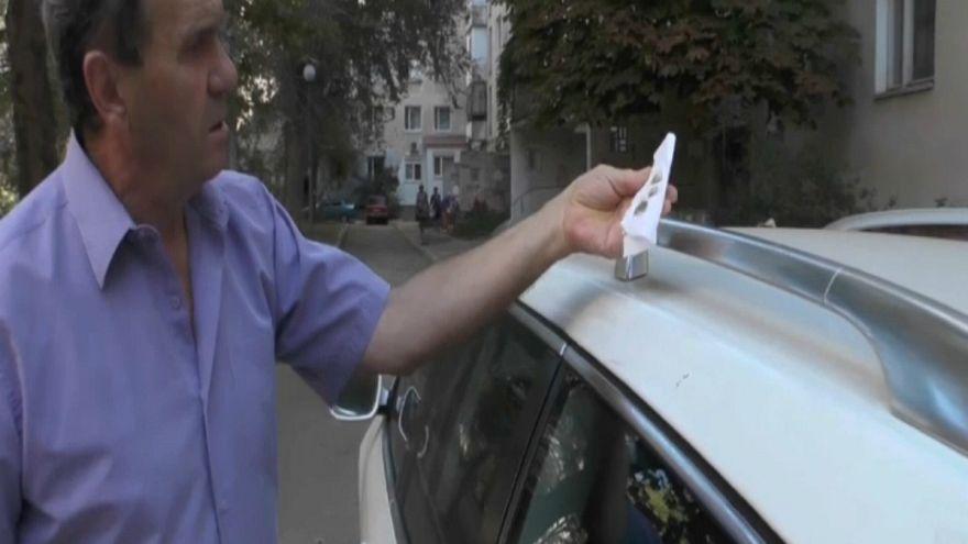Ржавые осадки в Крыму