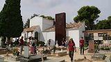 Tömegsírt tártak fel Spanyolországban