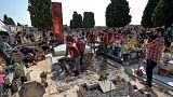 Εκταφιασμός θυμάτων του Φράνκο από μαζικό τάφο