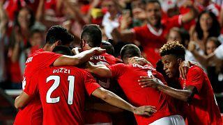 Benfica celebra entrada merecida na fase de grupos da Liga dos Campeões