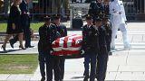 Arizona rinde homenaje a su héroe John McCain