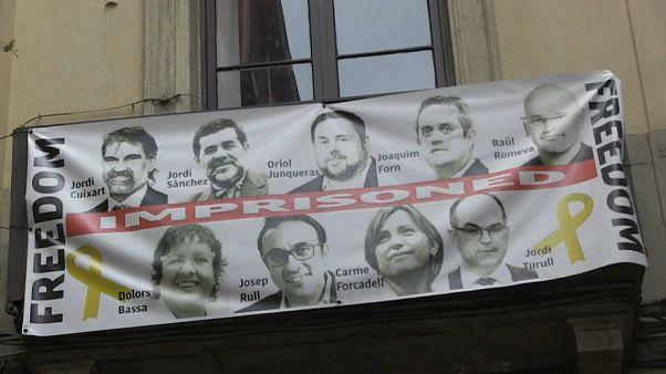 Se recrudece la guerra de lazos amarillos en Cataluña