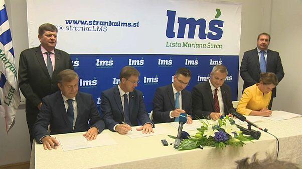 Slovenia: accordo della coalizione