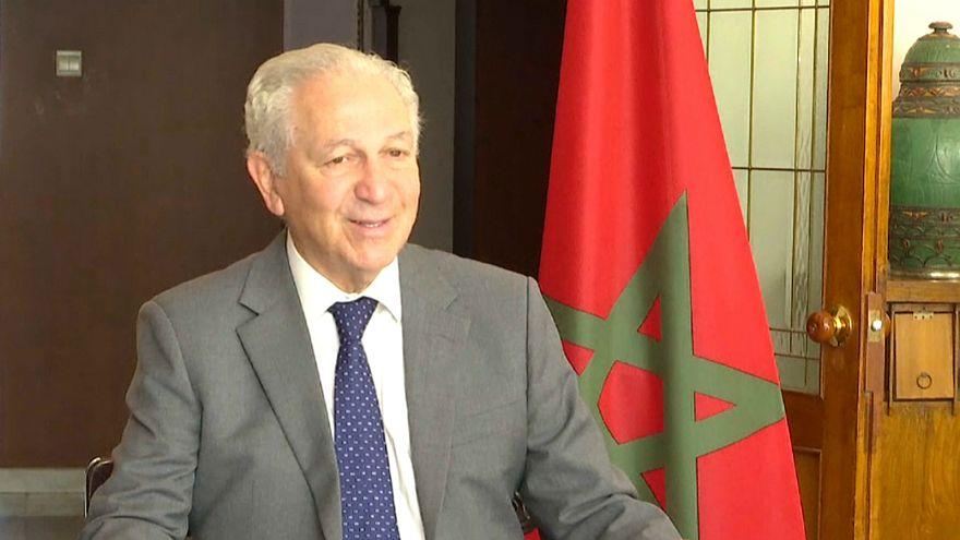 سفير المغرب لدى بكين عزيز مكوار