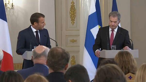 Macron: AB Türkiye ile stratejik ilişkilere sahip olmalı