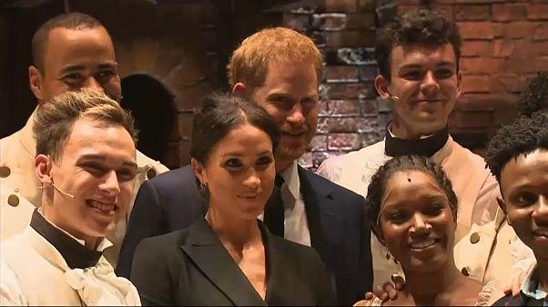 Príncipe Harry encanta em Londres