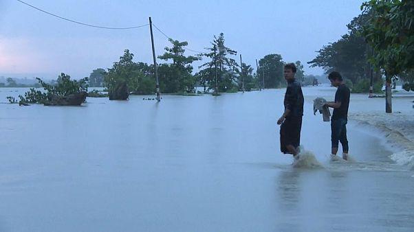 Прорыв плотины в Мьянме