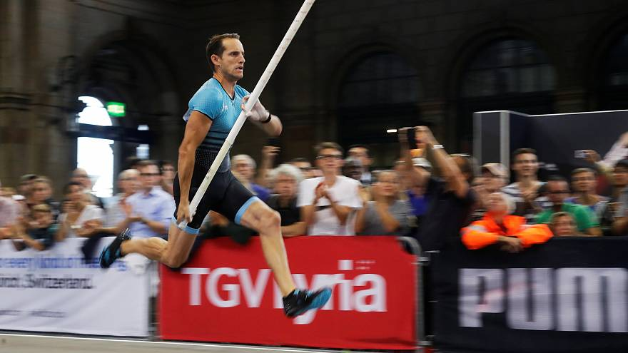 Renaud Lavillenie battu en gare de Zurich