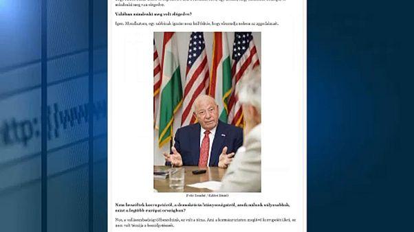 A budapesti amerikai nagykövet nem tapasztalta a szabadságjogok csorbítását