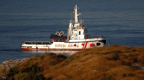 Open Arms trabajará junto a Salvamento Marítimo en el Estrecho de Gibraltar y el Mar de Alborán