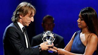 مودریچ مرد سال فوتبال اروپا شد