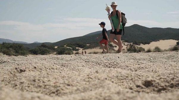 Sanddiebe auf Sardinien