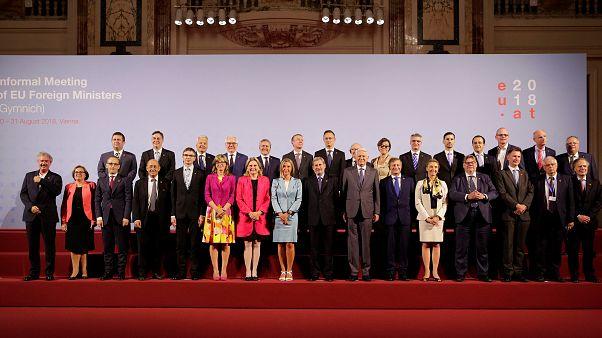 فيينا: وزراء خارجية الاتحاد الأوروبي يجتمعون مع نظرائهم من الدول المرشحة للعضوية