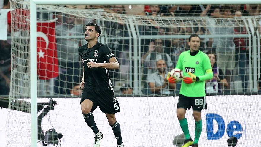 Partizan'ı 3 golle geçen Beşiktaş UEFA gruplarında
