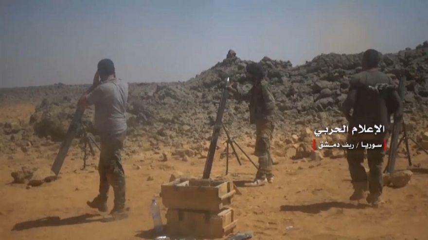 الجيش السوري ينشر شريط فيديو لما وصفه ببداية الحملة على إدلب
