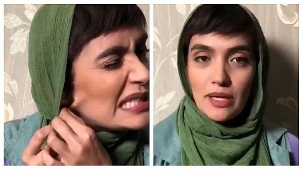 ویدئوی پخش شده از میترا حجار در شبکه های اجتماعی
