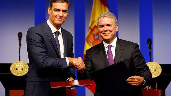 Sánchez anuncia 35 millones € de la UE para paliar la crisis migratoria venezolana