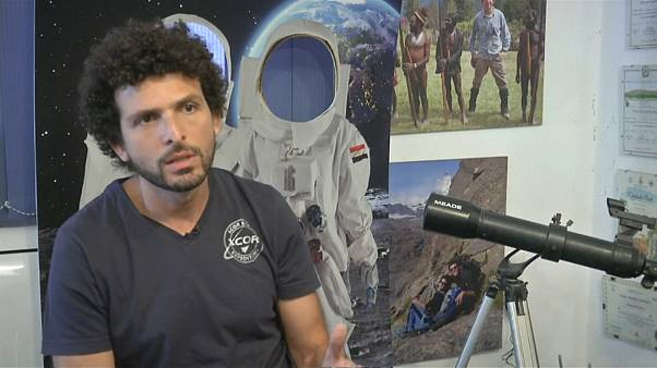 المغامر المصري عمر سمرة يسعى لإلهام الشباب العربي للاهتمام بأبحاث الفضاء