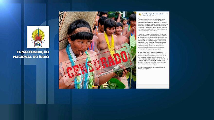 Facebook censura mulheres indígenas do Brasil