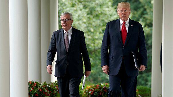 """يونكر يأمل في استمرار اتفاق """"وقف النار"""" بين الاتحاد الأوروبي وترامب"""