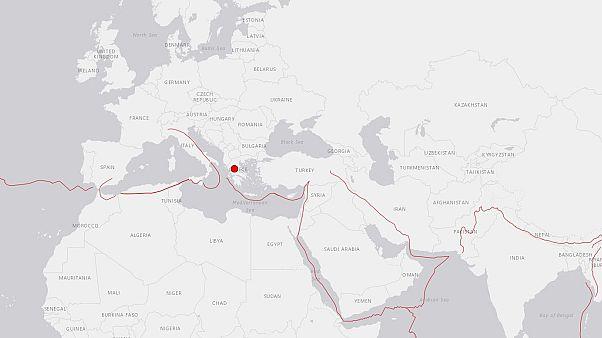 Un terremoto de magnitud 5 sacude Grecia sin causar víctimas