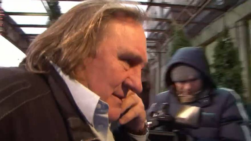 DEPARDIEU STRONGLY DENIES RAPE ALLEGATIONS