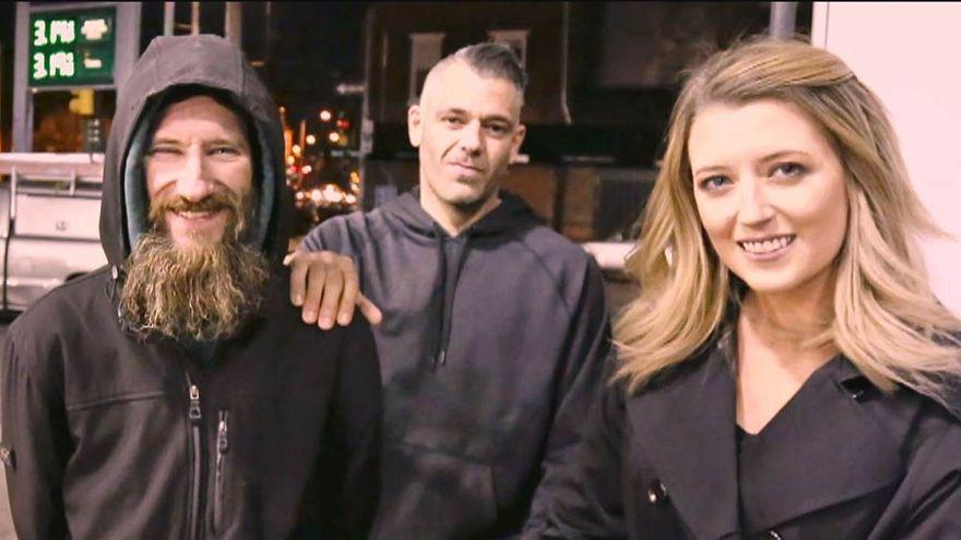 Amerikalı çift evsiz için topladığı 400 bin dolar bağışı teslim edecek