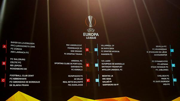 Liga Europa: Londres e leste europeu na rota do Sporting no grupo E