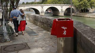 Paris'te tartışma yaratan pisuvarlara saldırı