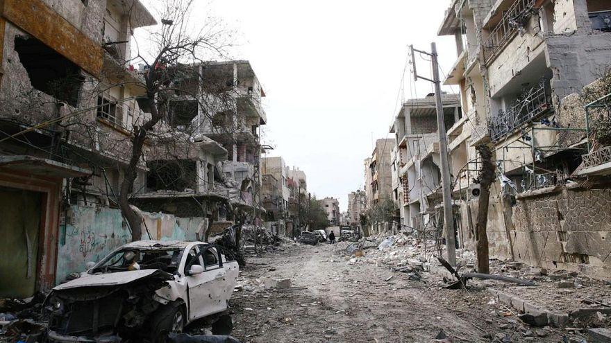 ABD öncülüğündeki koalisyonun Suriye'deki hava saldırısında çoğu çocuk 43 ölü