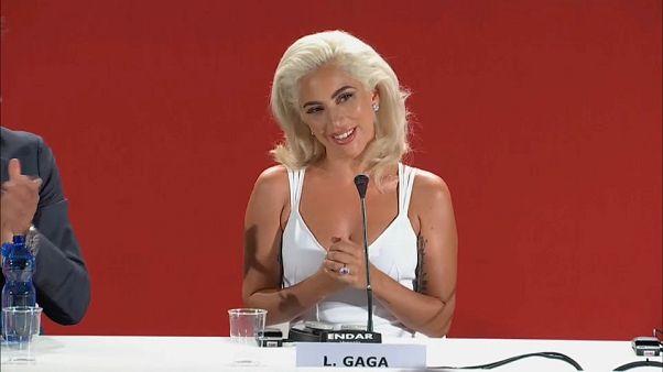 """Lady Gaga em Veneza com """"A star is born"""""""