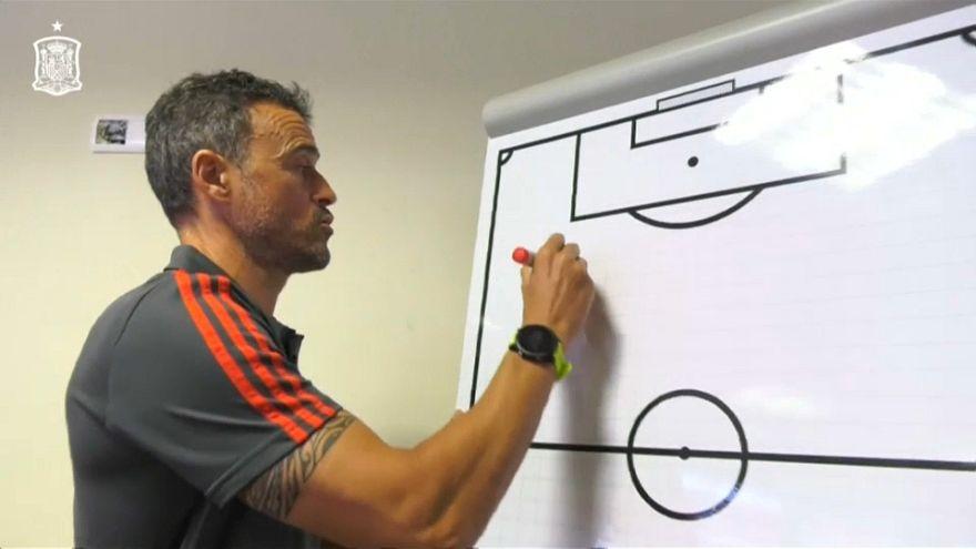 Muchas novedades en la primera lista de Luis Enrique como seleccionador español