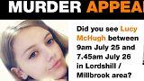 إعلان شرطة ساوثهمتون للبحث عن الضحية قبيل العثور على جثتها