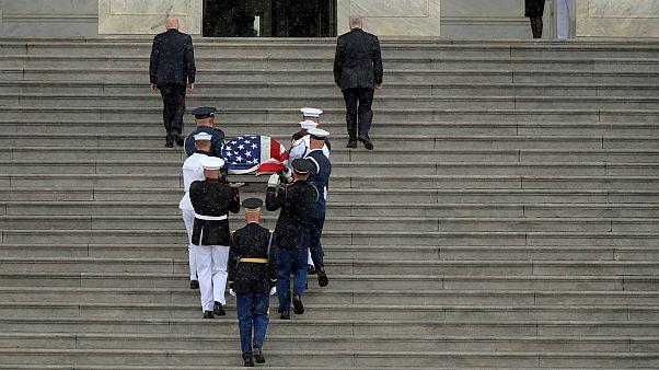 John McCain honoured in Washington