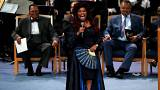 Emelkedett hangulatban búcsúztatták Aretha Franklint