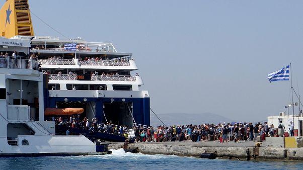 Δεμένα τα πλοία στα λιμάνια τη Δευτέρα 3 Σεπτεμβρίου