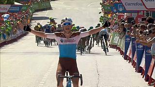 Premio a la valentía para Tony Gallopin en la Vuelta a España