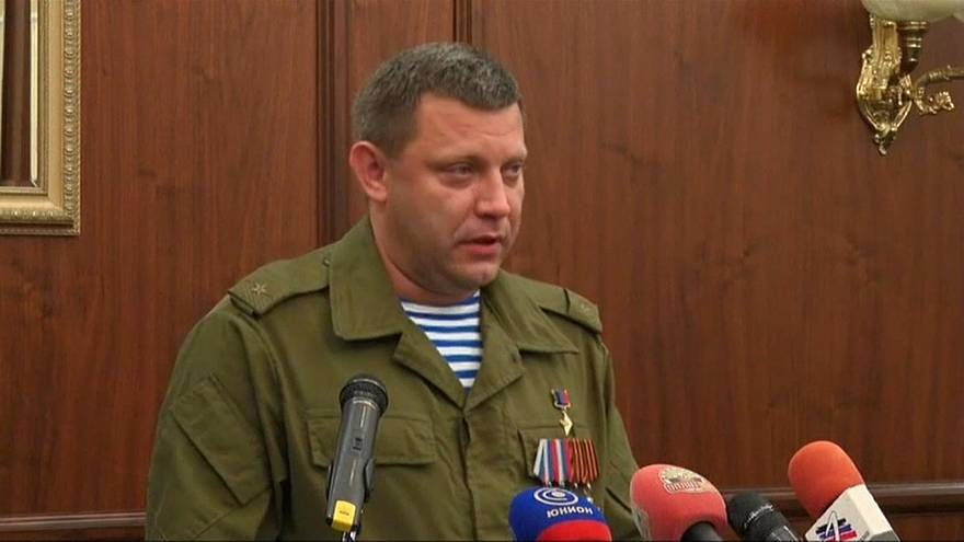 مقتل زعيم انفصاليي شرق أوكرانيا