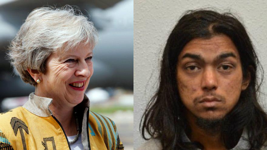 حكم بالسجن المؤبد لبريطاني أدين بالإرهاب وبالتخطيط لاغتيال ماي