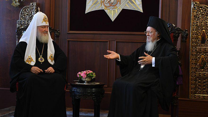 Kilise ayrılık başvurusu İstanbul'da masada: Rus Patrik, Barthelomeos'u ziyaret etti