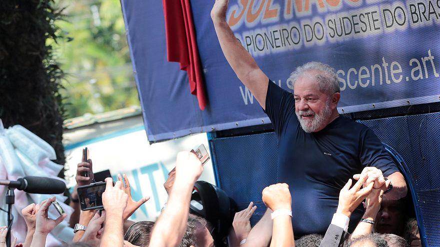 El expresidente brasileño Luiz Inácio Lula da Silva el pasado 7 de abril.