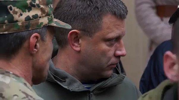 الكرملين يصف مقتل زعيم الانفصاليين في شرق أوكرانيا بالعمل الاستفزازي
