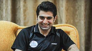 نوشاد عالمیان ایران را پس از نیم قرن صاحب مدال برنز تنیسر روی میز آسیا کرد